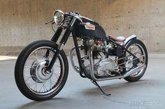 1969 Triumph Bonneville bobber :: via Bike EXIF