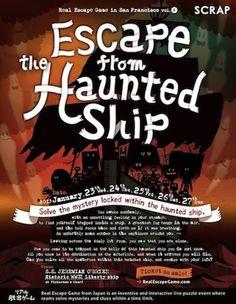 3/23 Real Escape Game in the U.S | SCRAP Entertainment Inc.  So much fun