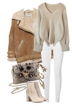 Refined look: 9 delicate images in beige shades-Утонченный look: 9 нежных образов в бежевых оттенках Refined look: 9 delicate looks in beige shades Winter Fashion Outfits, Fall Winter Outfits, Look Fashion, Autumn Winter Fashion, Womens Fashion, Fashion Trends, Winter Clothes, Fashion 2016, Winter Coats