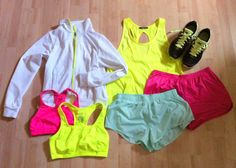 treat yourself to some super cute work out clothes that you love :)