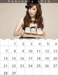 テヨンカレンダー ʕ・ᴥ・ʔღ 1602 - Taeyeon Candy News ☺ Snsd #taeyeon #snsd #taeyeoncalendar