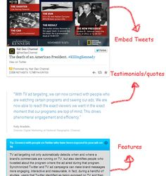 Example 7 – Twitter - Success Story Page