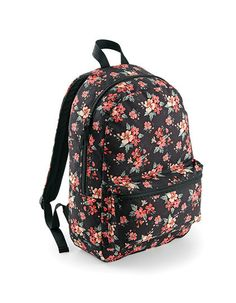 Faded Floral Backpack for School Camping Festival Bag Capacity Rucksack Floral Backpack, Backpack Bags, Fashion Backpack, Trendy Backpacks, School Backpacks, Laptop Rucksack, Laptop Bag, College Bags, Textiles