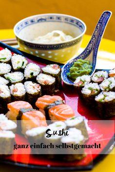 Jetzt auf dem Blog: Maki Sushi selber machen – eine Anleitung und Inspiration