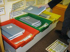 CLASSROOM: Self Assessment Marking Trays: I got it! I think I got it! I don't think I understand.when marking the childrens book put a corresponding coloured sticker in on the piece of work so its remembered where the child put themselves Year 6 Classroom, Ks1 Classroom, Classroom Layout, Primary Classroom, Primary School, School Displays, Classroom Displays, Classroom Organization, Classroom Management