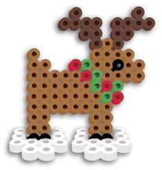 Perler Beads Fused Bead Kit Reindeer | eBay
