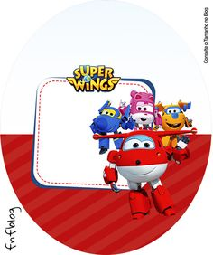 Molde Tubete Oval Super Wings
