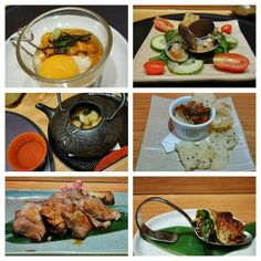 """Omakase at one of my favourite places to have it in Vancouver... at Sada-san's Octopus Garden.  Signature """"Ocean Viagra"""" - shot of uni, Japanese Mountain yam, uni, nori, sushi rice  Clam salad  Pine mushroom, shiitake mushroom and dashi soup in teapot.   Foie gras crème brûlée with crunchy rice and sesame crackers  Grilled lamb rib in Japanese marinade and wasabi  Miso-kani (crab tomalley), grilled asparagus and cheese.    #Omakase #JapaneseFood #happygirl #vancouver #kitsilano"""