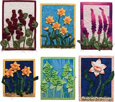 Spring has arrived—time for flower quilts! Have you ever seen anything like this dimensional quilted garden below? Discover how to make amazing ruched flowers at the Stitch This! blog.