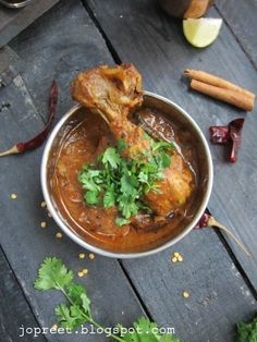 Kodi Kura (Andhra Style Chicken Curry)