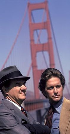 The Streets of San Francisco...Created by Edward Hume.  With Karl Malden, Michael Douglas, Reuben Collins, Richard Hatch. A veteran cop with more than 20 years of experience is teamed with a young Inspector to solve crimes in San Francisco.
