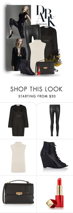 """""""..."""" by bliznec ❤ liked on Polyvore featuring Valentino, Balenciaga, Theory, Givenchy and Estée Lauder"""
