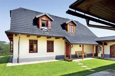 Traditional House, Home Fashion, Exterior Design, Gazebo, Outdoor Structures, Mansions, Country, Architecture, House Styles