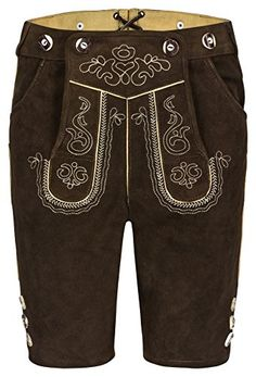 Oktoberfest Outfit, German Lederhosen, Small Pocket Knives, German Costume, Leather Pants, Costumes, Brown, How To Wear, Men