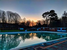 The weather has been shocking this week there have been a couple of mornings where the sun has tried to make an appearance.  This photo was taken on one of those mornings the sun starting to rise over Sussex. This is Pells Pool in Lewes which is a freshwater lido...currently closed until the season starts again in a few months.  #MySundayPhoto