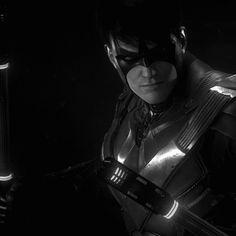 """Nightwing, Robin, Catwoman and Azrael revealed as Batman's allies in Arkham Knight. Batman Arkham Knight, Batman Arkham Series, Batman Arkham City, Batwoman, Batgirl, Batman Comics, Dc Comics, Nightwing Wallpaper, Batman Games"