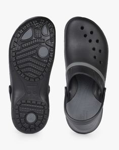 7b02e3078642 Buy Black Casual Sandals for Men by CROCS Online