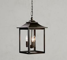 Classic Indoor/Outdoor Pendant #potterybarn