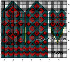 mittens wanten a. Knitted Mittens Pattern, Knit Mittens, Knitted Gloves, Knitting Charts, Knitting Stitches, Knitting Patterns Free, Norwegian Knitting, Fingerless Mittens, Crochet Chart