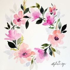 aquarelle inspiration artistes fleurs stephanie ryan