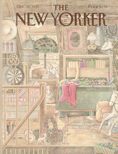 The New Yorker - Monday, December 21, 1987 - Issue # 3279 - Vol. 63 - N° 44 - Cover by : Jenni Oliver