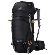Other Camping Hiking Backpacks 36109: Jack Wolfskin Highland Trail Rucksack Black 48 L -> BUY IT NOW ONLY: $124.84 on eBay!