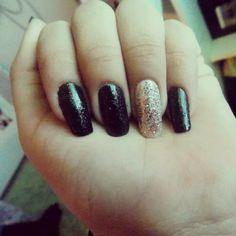 Black w/glitter