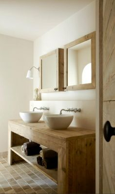 Badkamers on pinterest bathroom wands and tile - Badkamermeubels steen ...