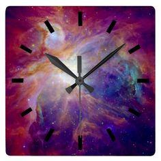 Orion space belt wall clock