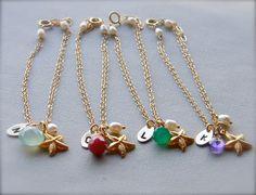 personalized charm bracelet, $30