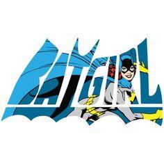 DC Comics Retro Batgirl Logo Character Official Women's T-shirt (White) - Urban Species Ladies Short Sleeved T-Shirt