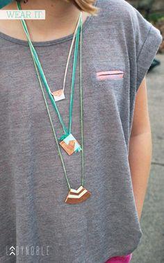 DIY Jewelry DIY necklaces