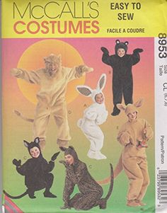 Animal Halloween Costumes, Movie Costumes, Girl Costumes, Ewok Halloween, Onesie Costumes, Halloween 2013, Adult Costumes, Sewing Patterns For Kids, Mccalls Sewing Patterns