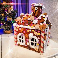Gingerbread house. Felt FoodНовый год и Рождество ⛄самое сказочное и волшебное время.