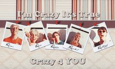 Crazy for ross R5 Lyrics, R5 Band, I Love Justin Bieber, Im Crazy, Ross Lynch, Cool Bands, My Idol, All About Time, Polaroid Film