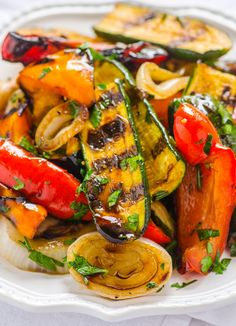 The Balsamic Marinade makes this dish special. The longer it sits, the more fragrant it becomes.
