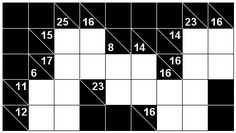 Number Logic Puzzles: 21418 - Kakuro size 1