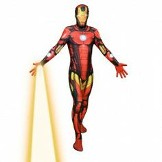 Ironman Marvel Morphsuit with augmented reality superpowers