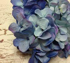 Artificial Flowers  One HUGE Hydrangea Head in by BlissfulSilks, $10.99
