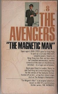 The Avengers - The Magnetic Man, back cover.