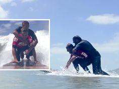 O surfista argentino Martin Passeri, campeão nacional por cinco vezes, se preparava para o início de sua bateria quando soube de uma história que mudaria o trajeto dos longos treinos que realizava nos últimos meses.