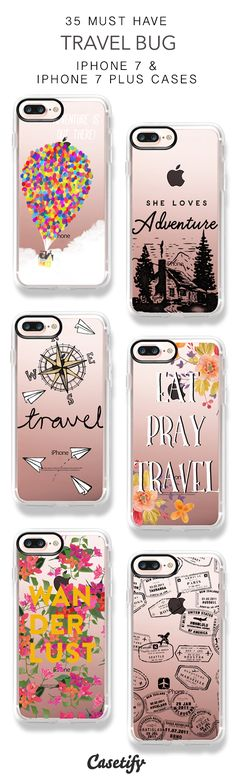 35 Must Have Travel Bug iPhone 7 Cases and iPhone 7 Plus Cases. More Travel iPhone case here > https://www.casetify.com/collections/top_100_designs#/?vc=gXjzqBqVms