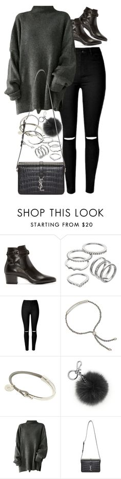 """""""Untitled #9692"""" by nikka-phillips ❤ liked on Polyvore featuring Yves Saint Laurent, Apt. 9, Monica Vinader, Michael Kors and Cartier"""