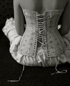 When tastefully worn, corsets can make a woman look beautiful.