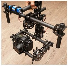 In Stock DSLR 3 axis Brushless Gimbal /handle camera gimbal with new 180T motor $1,199.00