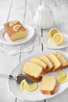New Easy Cake : Lemon cake without gluten, lactose and sugar, Lemon Loaf Cake, Pound Cake, Cake Mixture, Healthy Cake, Gluten Free Cakes, Sugar Free Recipes, Sweet Cakes, Dairy Free, Food And Drink