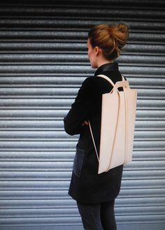 7 | A Chic Leather Backpack, Just For Your Laptop | Co.Design | business + design