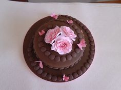Full picture of the 'Chocolate Indulgence' chocolate cake
