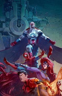 Captain America and Company