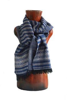 Ethiopian Long Scarf, Shawl, Blend of Silk and Cotton With Light Fringe Trim #Handmade #ScarfShawlWrap #AnyOccasion